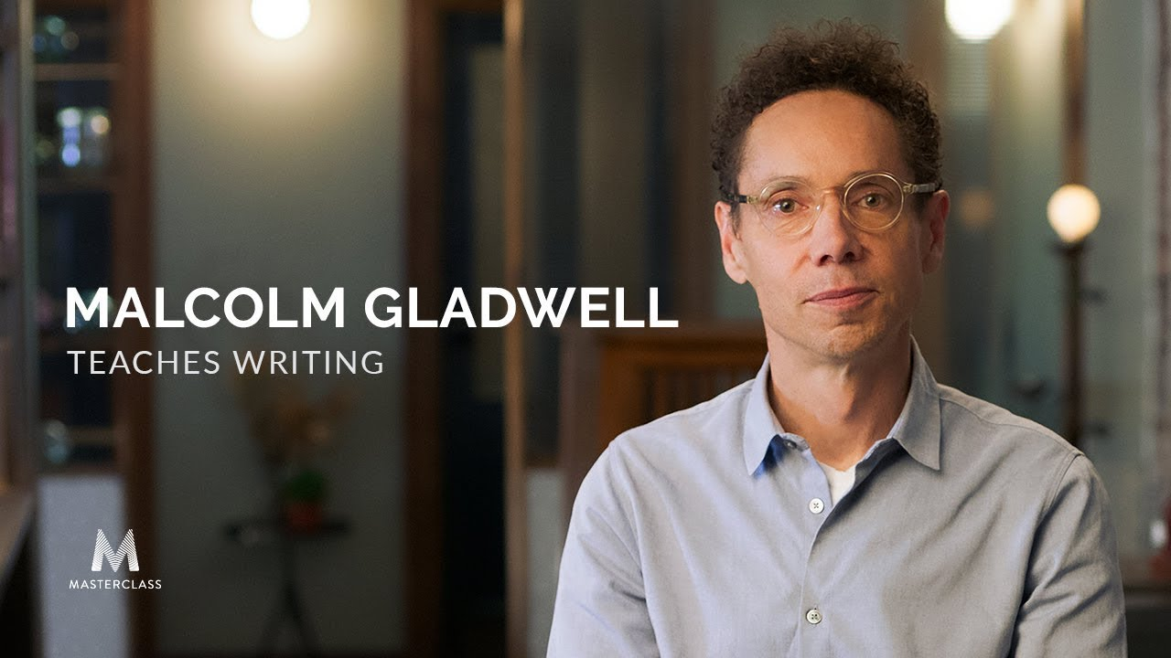 Malcolm Gladwell teaches writing Image